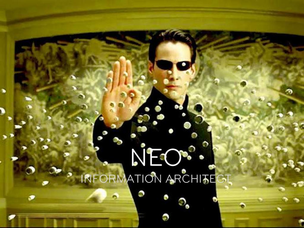PLATO INFORMATION ARCHITECT NEO INFORMATION A...
