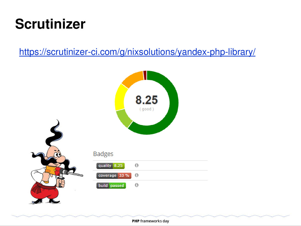 Scrutinizer https://scrutinizer-ci.com/g/nixsol...