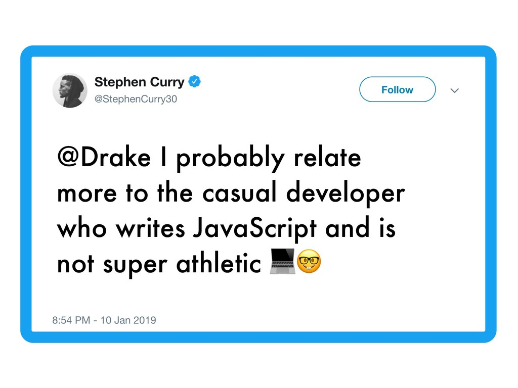 @Drake I probably relate more to the casual dev...