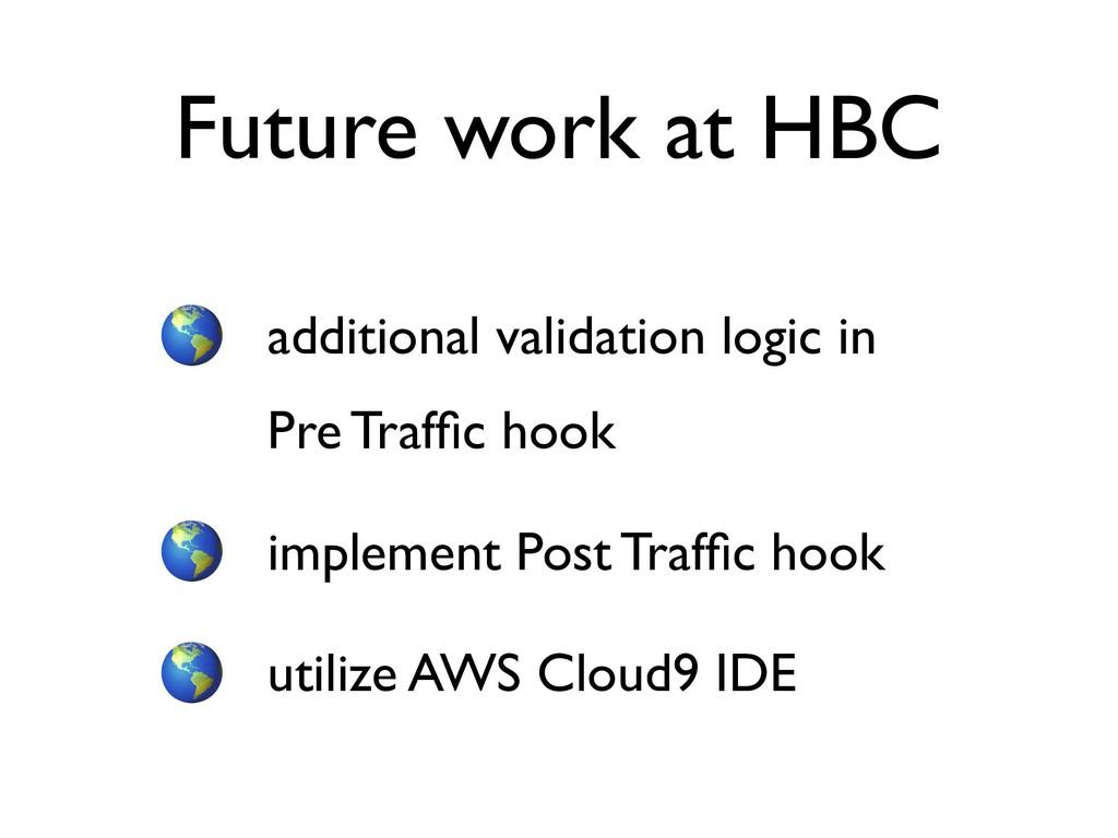 additional validation logic in Pre Traffic hook ...