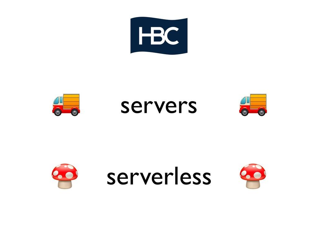 servers serverless