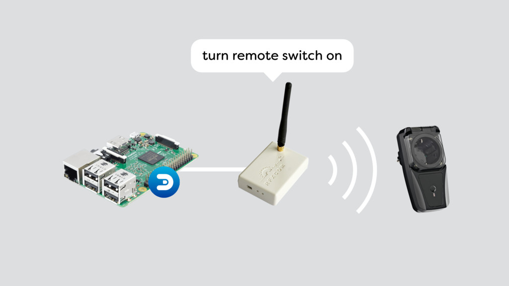 turn remote switch on