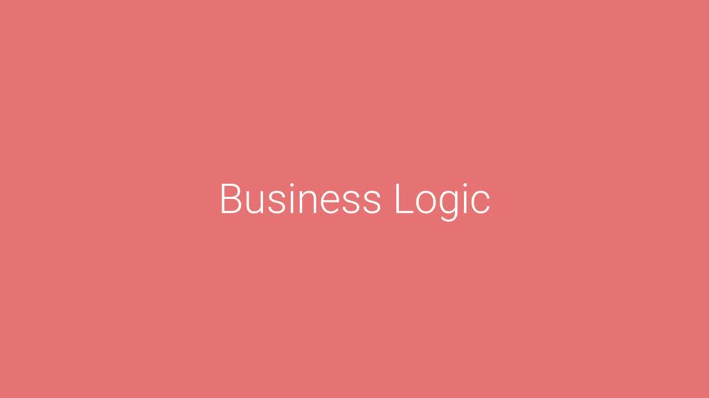 l Business Logic