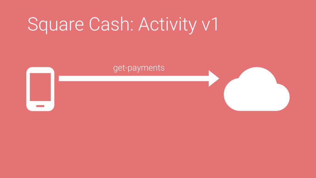 Square Cash: Activity v1 get-payments