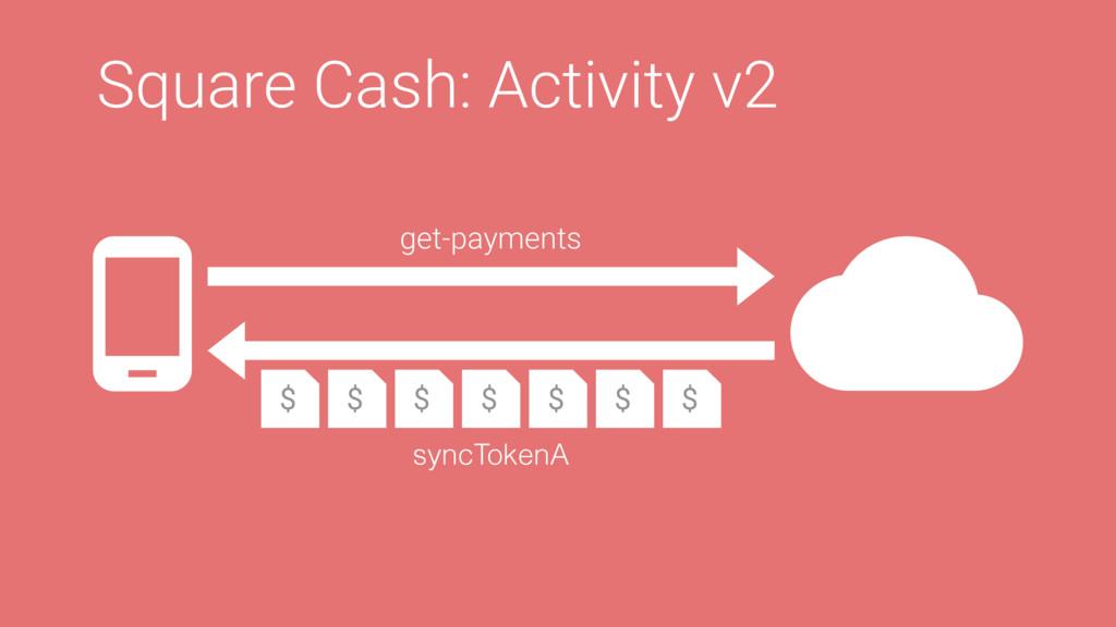 Square Cash: Activity v2 get-payments $ $ $ $ $...