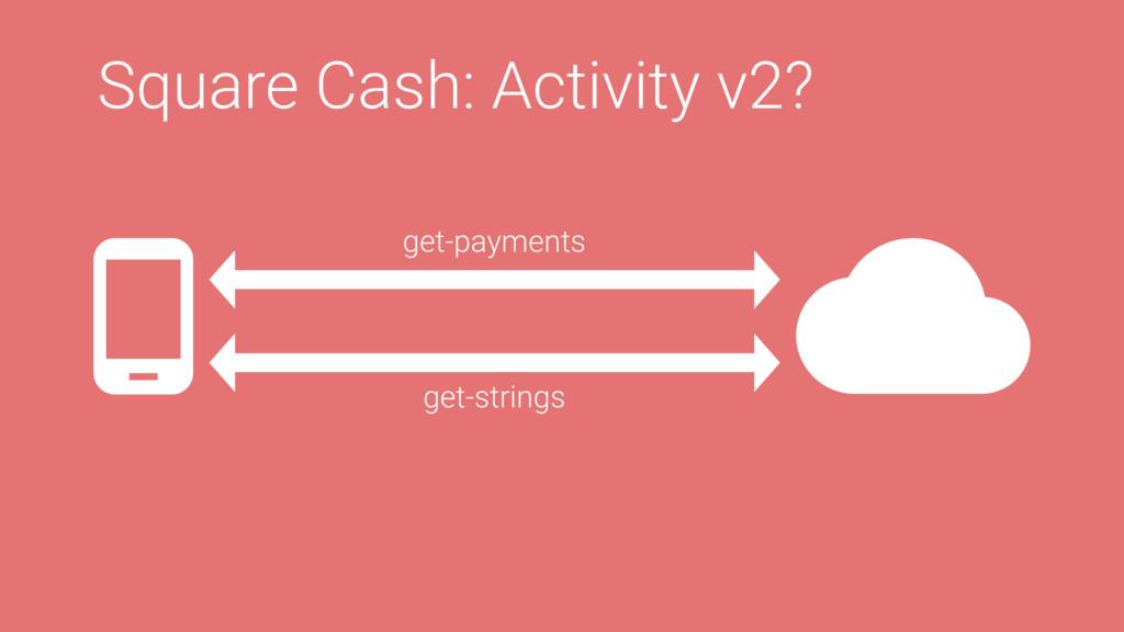 Square Cash: Activity v2? get-payments get-stri...