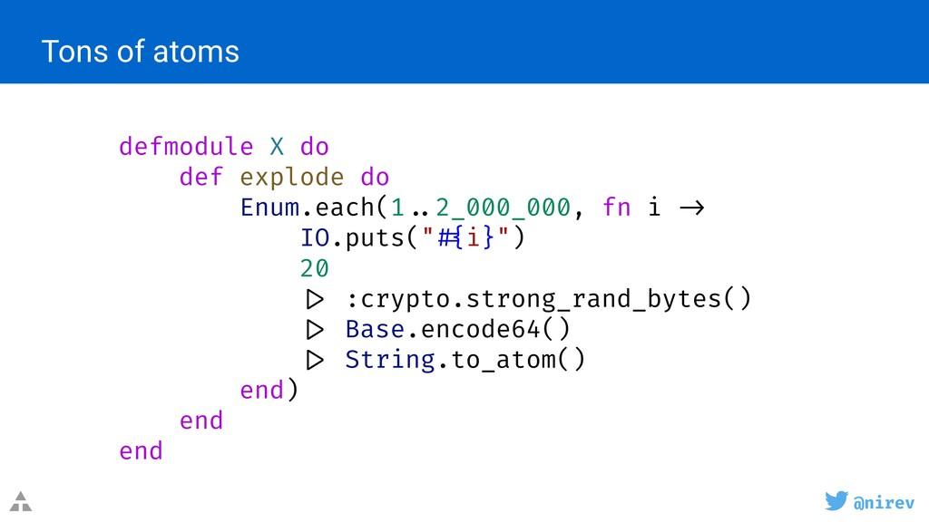 @nirev defmodule X do def explode do Enum.each(...