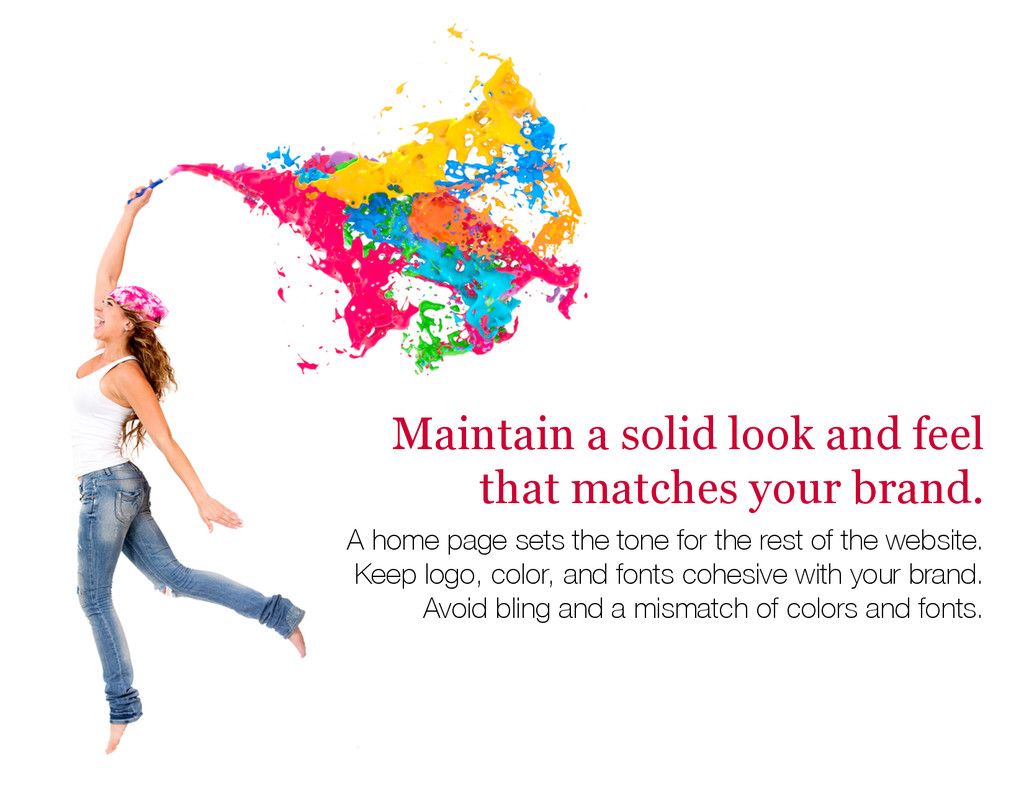 Maintain a solid look and feel that matches you...