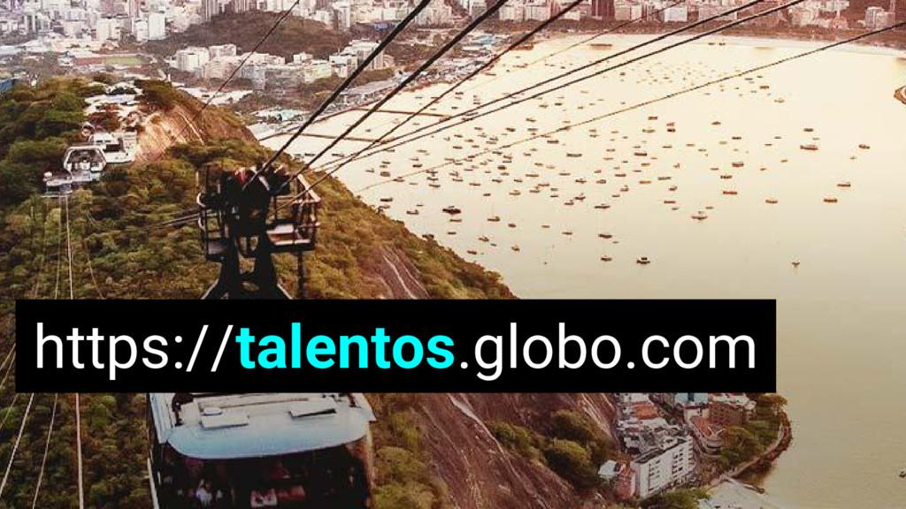 https://talentos.globo.com