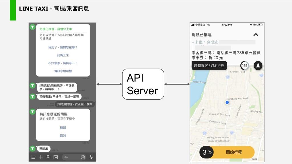 LINE TAXI - / API Server