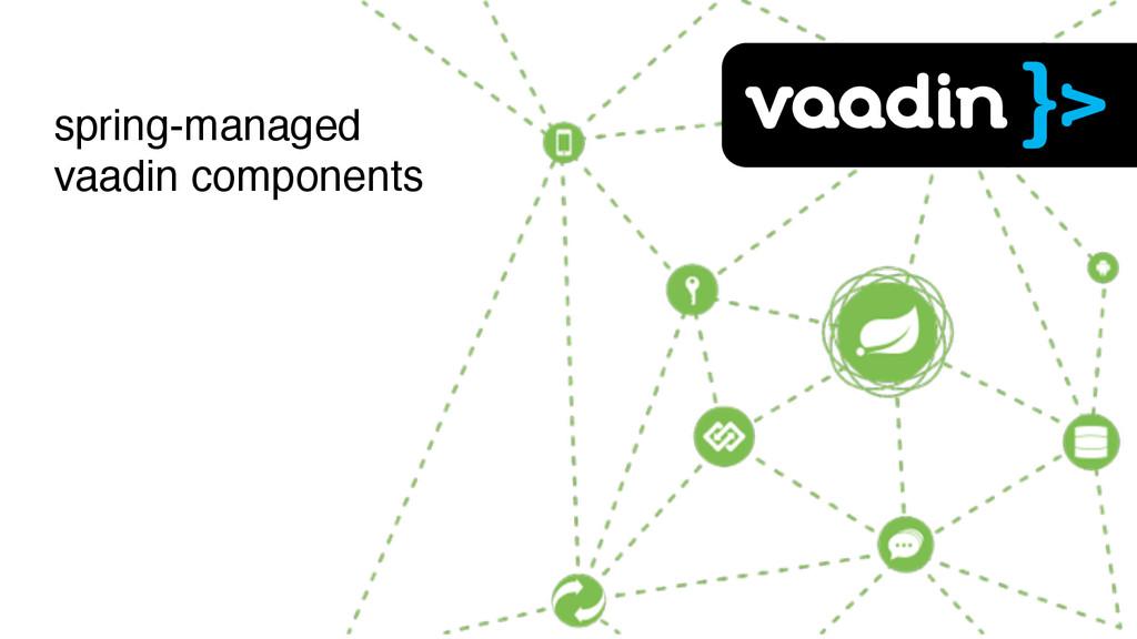 spring-managed vaadin components