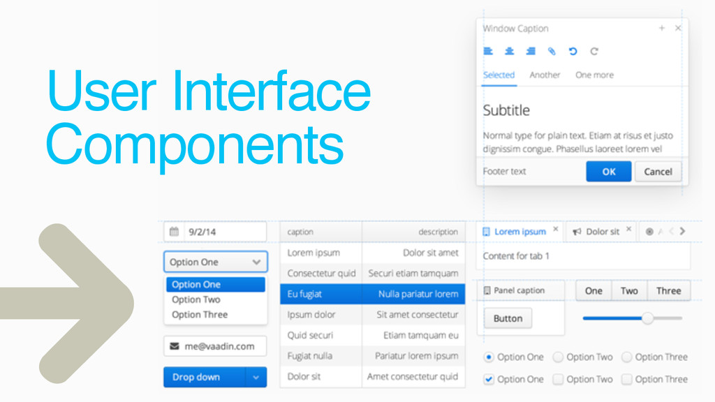 User Interface Components