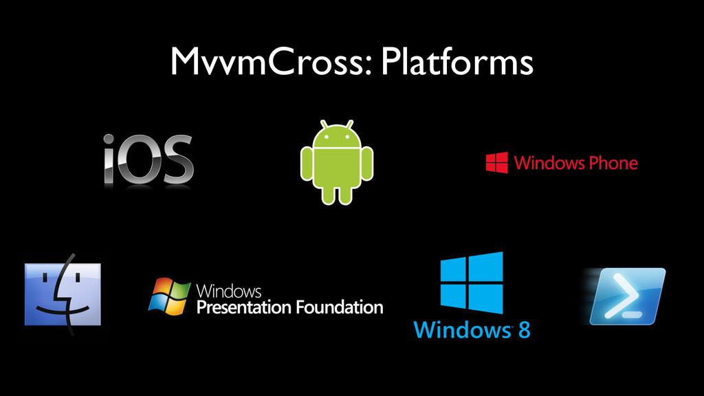 MvvmCross: Platforms