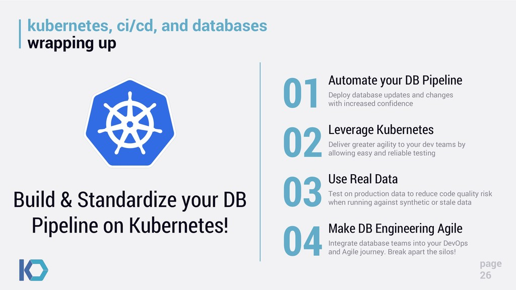 kubernetes, ci/cd, and databases wrapping up pa...