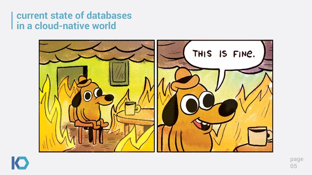 current state of databases in a cloud-native wo...