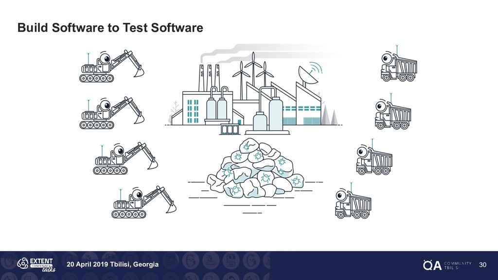 20 April 2019 Tbilisi, Georgia Build Software t...