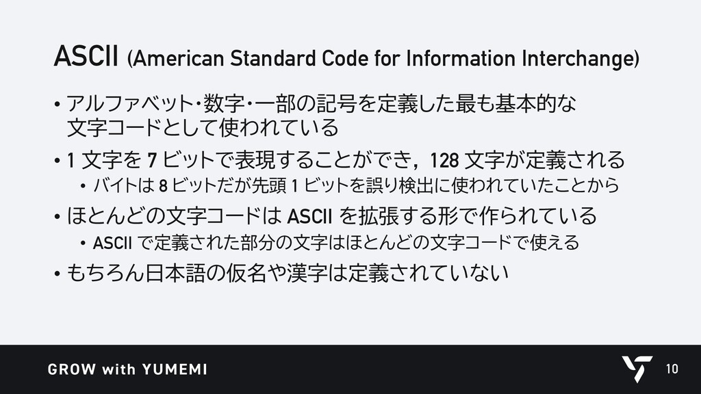 ASCII (American Standard Code for Information I...