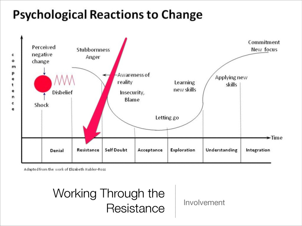 Working Through the Resistance Involvement