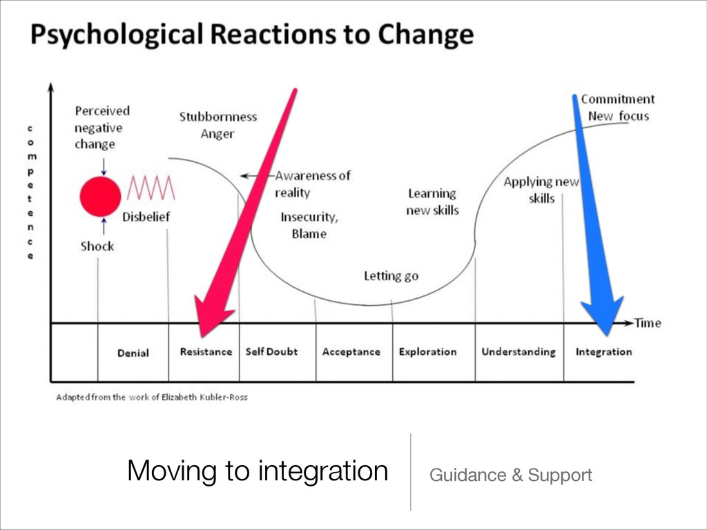 Moving to integration Guidance & Support