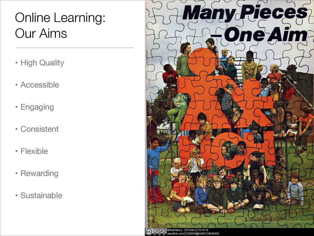 Online Learning: Our Aims • High Quality  • Acc...