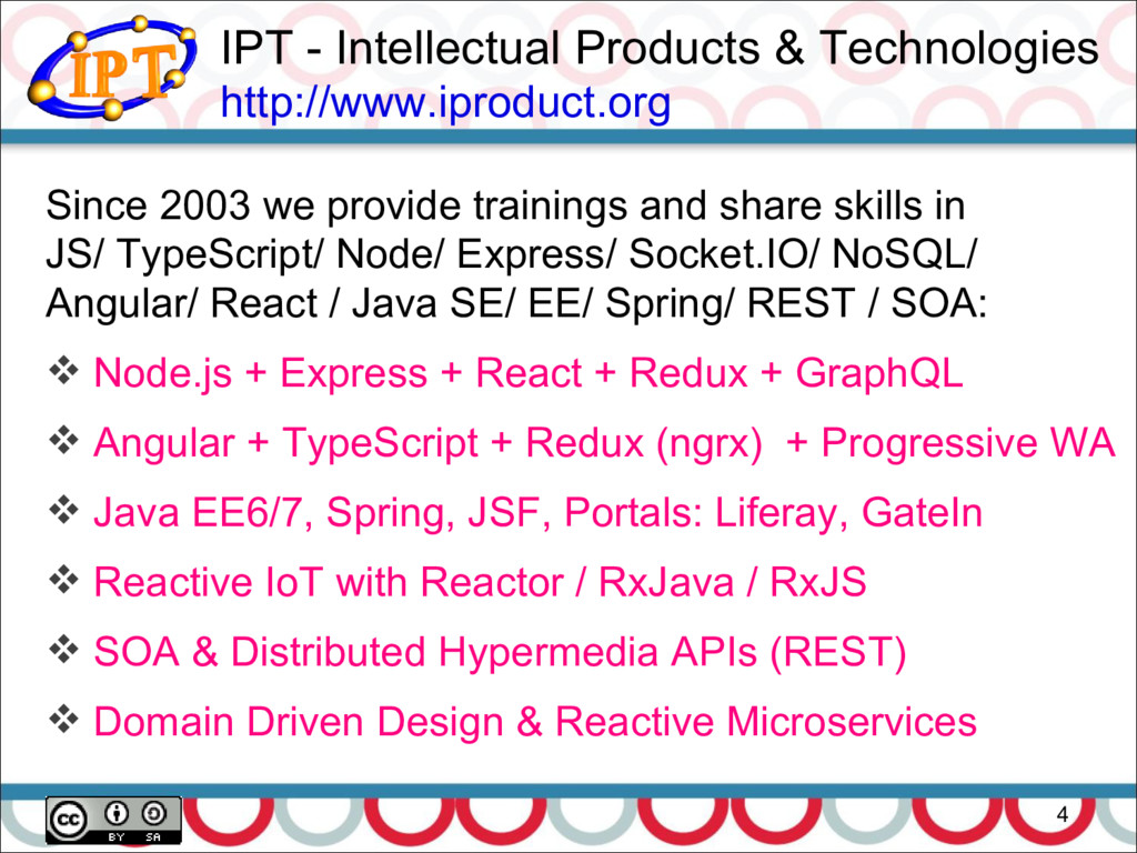 IPT - Intellectual Products & Technologies http...