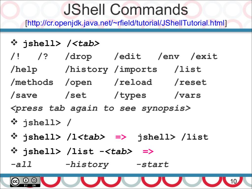 JShell Commands [http://cr.openjdk.java.net/~rf...