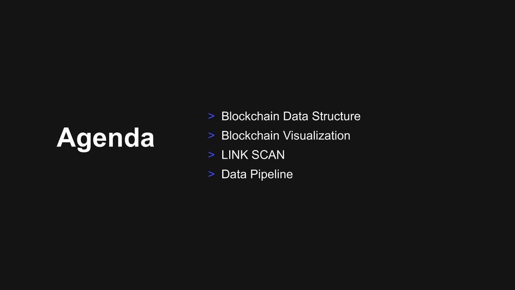 Agenda > Blockchain Data Structure > Blockchain...