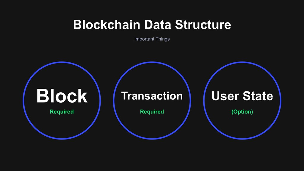 Important Things Blockchain Data Structure Requ...