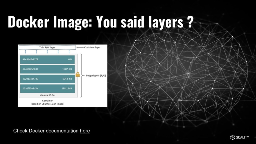 Docker Image: You said layers ? Check Docker do...