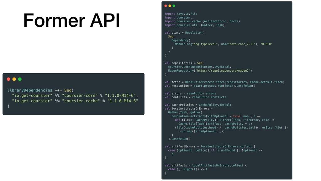 Former API