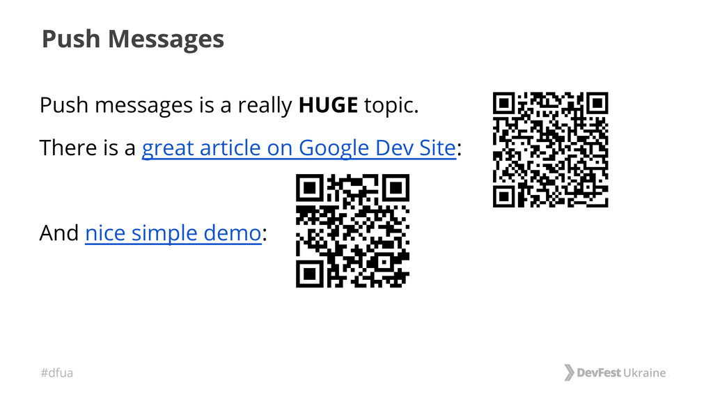 #dfua Push Messages Push messages is a really H...