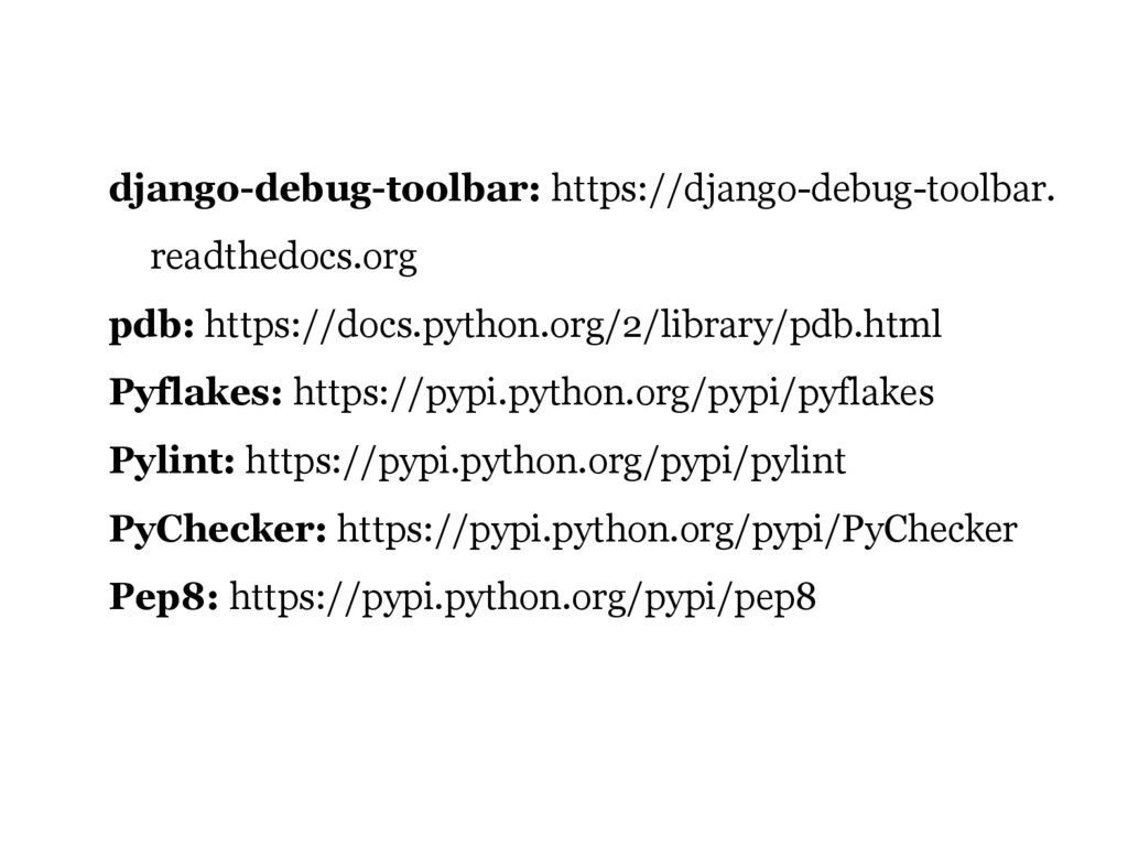 django-debug-toolbar: https://django-debug-tool...