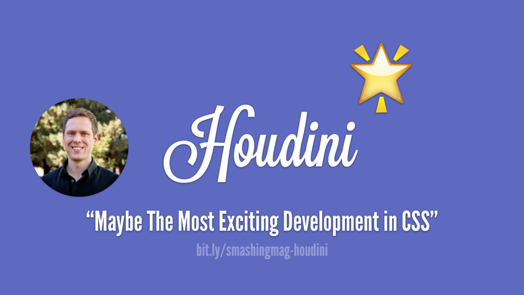 """Houdini  """"Maybe The Most Exciting Development i..."""