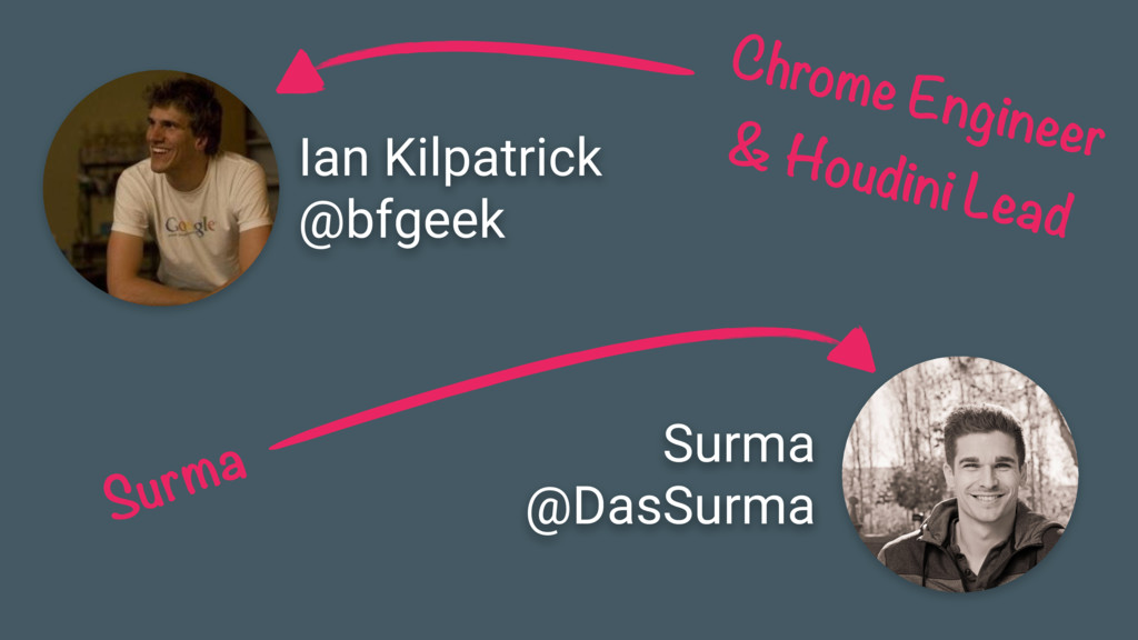Ian Kilpatrick @bfgeek Chrome Engineer & Houdin...