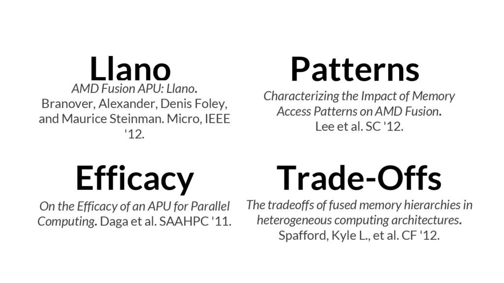 Llano AMD Fusion APU: Llano. Branover, Alexande...