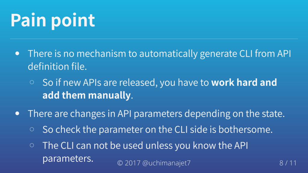 Painpoint Thereisnomechanismtoautomatical...