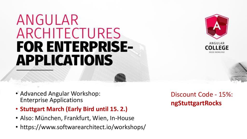 • Advanced Angular Workshop: Enterprise Applica...