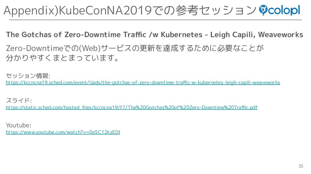 35 The Gotchas of Zero-Downtime Traffic /w Kubern...