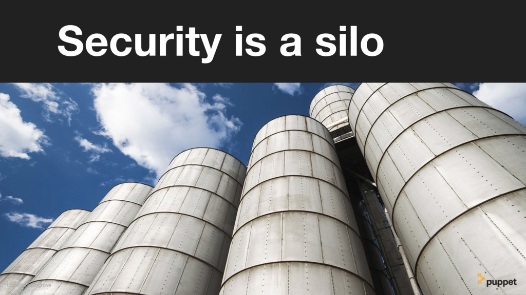 Gareth Rushgrove Security is a silo