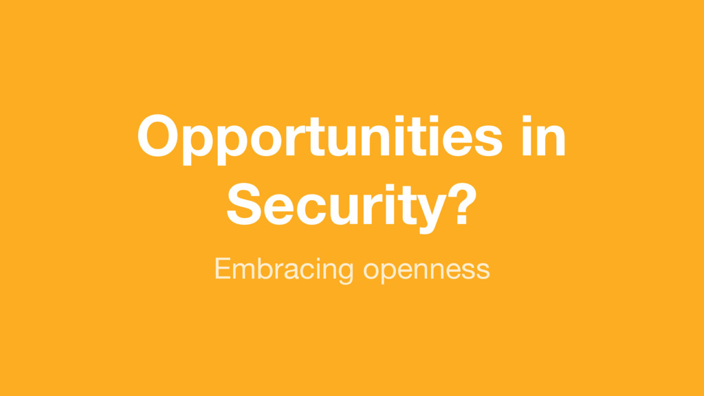 (without introducing more risk) Opportunities i...