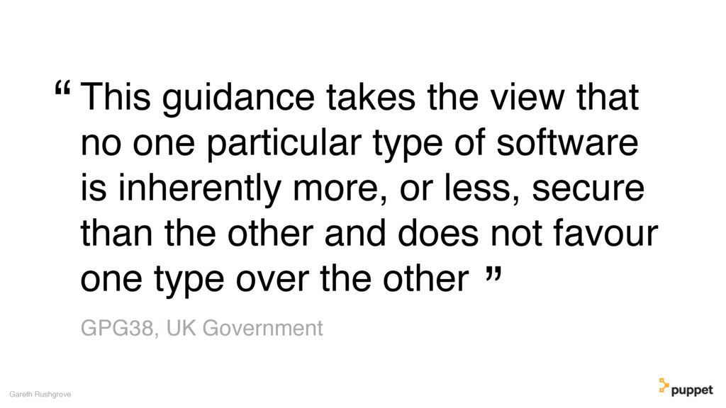 This guidance takes the view that no one partic...