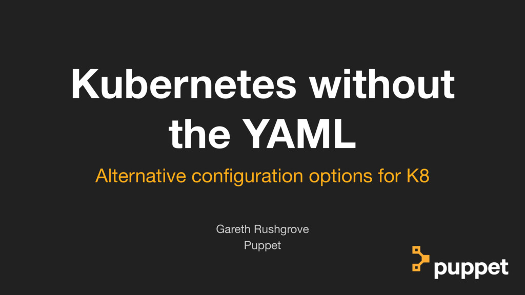 (without introducing more risk) Kubernetes with...