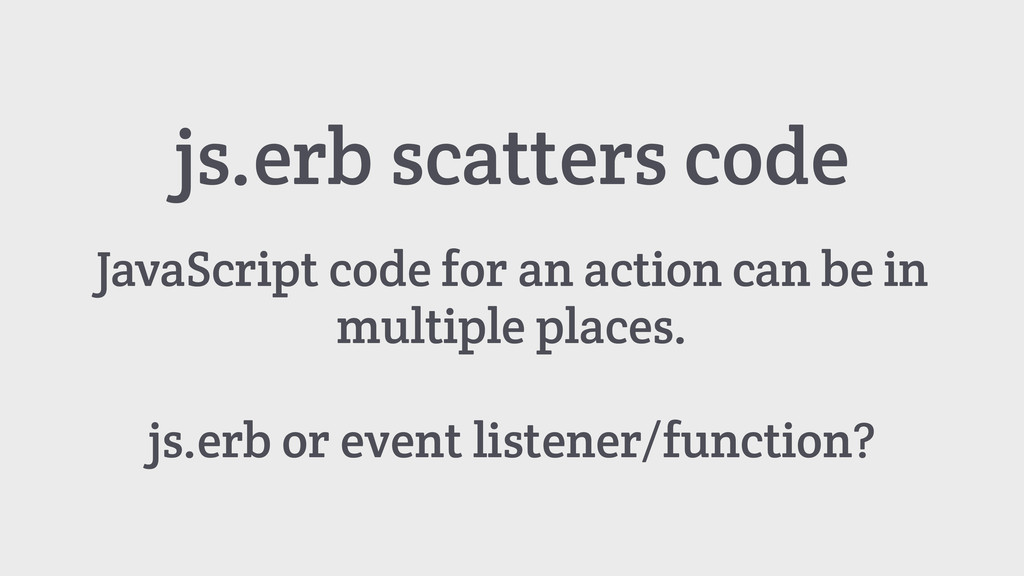 js.erb scatters code JavaScript code for an act...