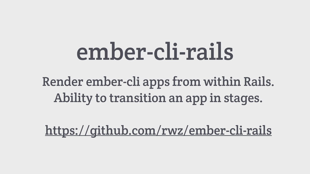 ember-cli-rails Render ember-cli apps from with...