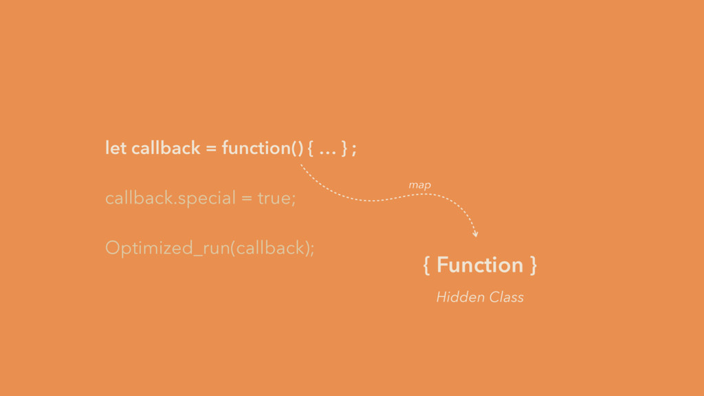 let callback = function() { … } ; callback.spec...