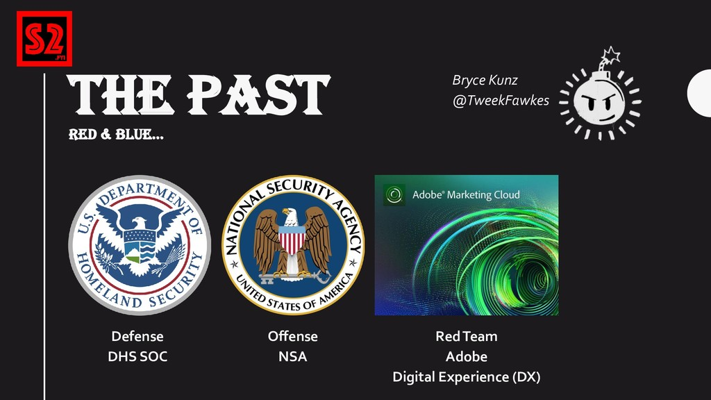 THE PAST RED & BLUE... Red Team Adobe Digital E...