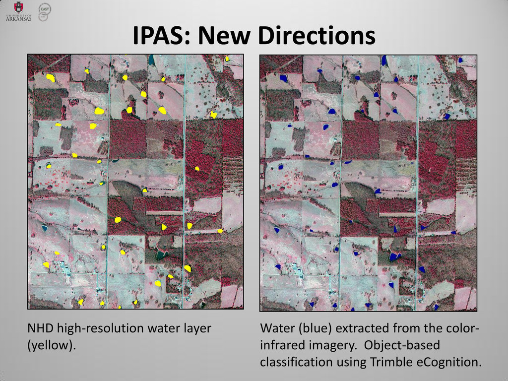 IPAS: New Directions NHD high-resolution water ...