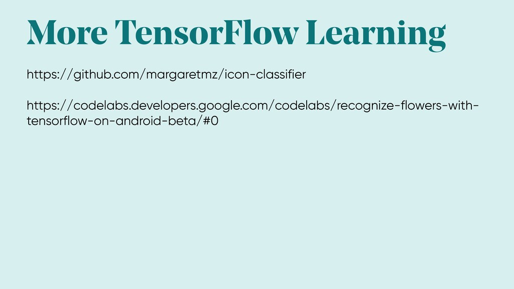 More TensorFlow Learning https://github.com/mar...