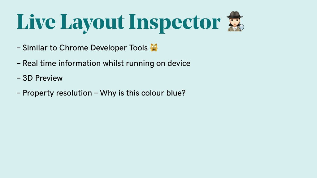 Live Layout Inspector  - Similar to Chrome Deve...