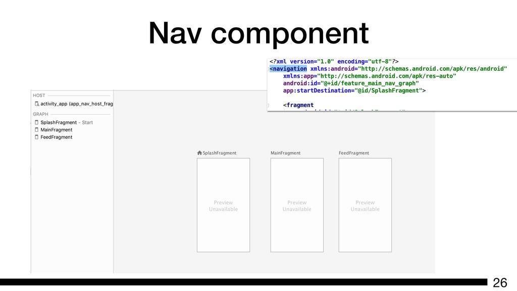 Nav component 26